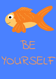 The Be Yourself Fish